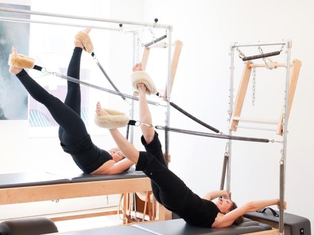 Pilates apparatus plateau